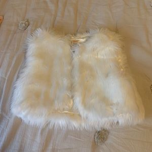 Other - Pair of fuzzy vests from Gymboree sz10-12 NWOT